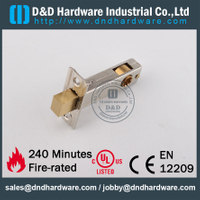 Stainless steel dead bolt mortise lock for Metal Door-DDML033