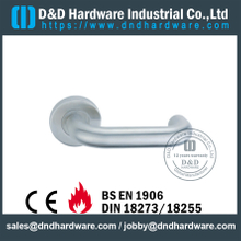 SUS304 Durable American Double Crank Door Handle For Commercial Metal Door-DDAH001