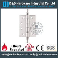 Stainless Steel 304 New Style Ball Bearing Hinge with Crown Tip for Wooden Door-DDSS034-B