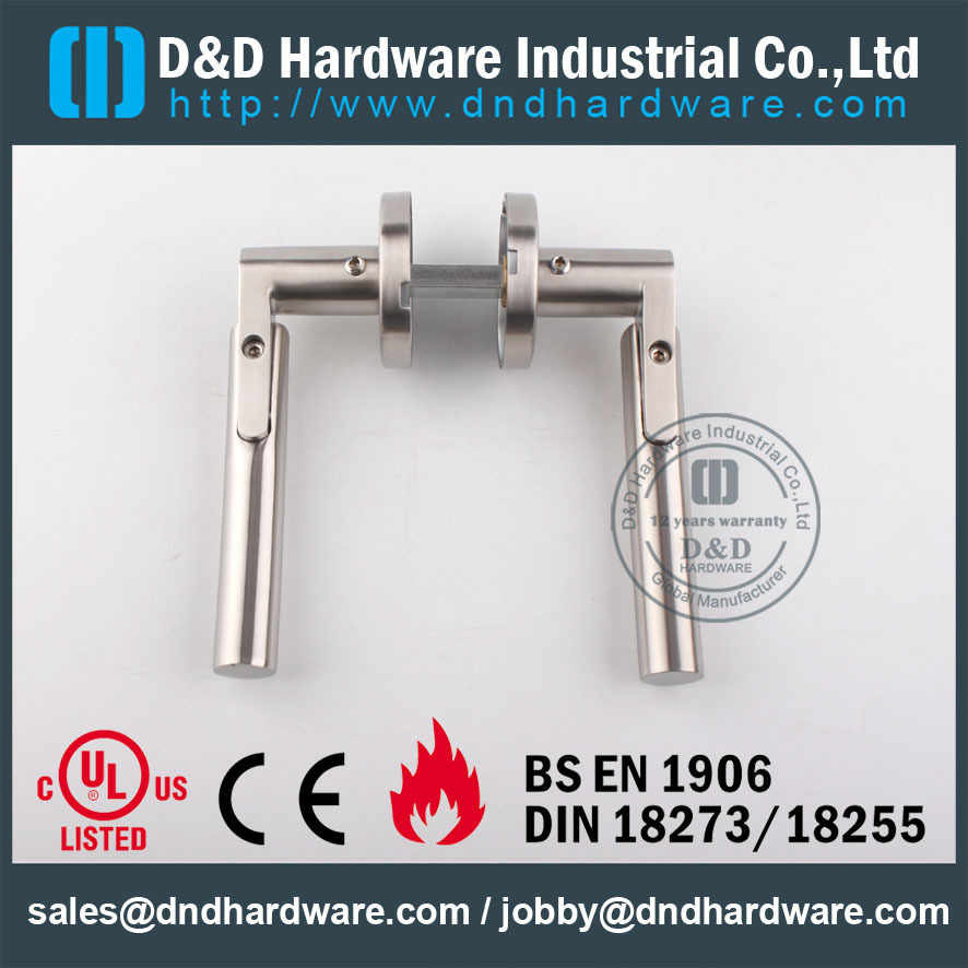 D&D Hardware-Indoor Hardware SS304 lever handle DDSH017
