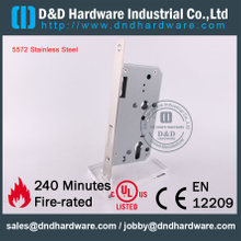 SS304 Fire Rated Dead Bolt Door Lock for Wooden Doors with CE EN12209-DDML013
