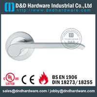 Stainless steel 316 high quality casting door handle for Commercial Single Door- DDSH212