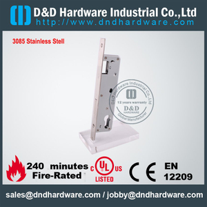 Antirust square/round head deadbolt lock for Commercial Door-DDML023