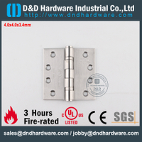 SS304 UL Fire Rated 2BB Hinge-FR-4x4x3.4mm