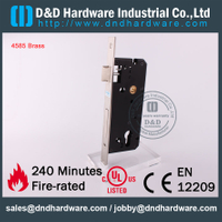 Brass 85 Entry Mortise Lock Door-DDML016