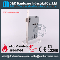 5085 Stainless Steel 304 Fire Rated Sash Door Lock with CE Certificate for Aluminum Metal Door -DDML026