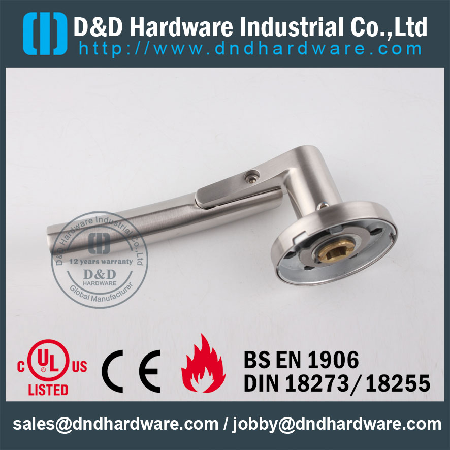 D&D Hardware-EN1906 Stainless Steel solid Door handle DDSH017