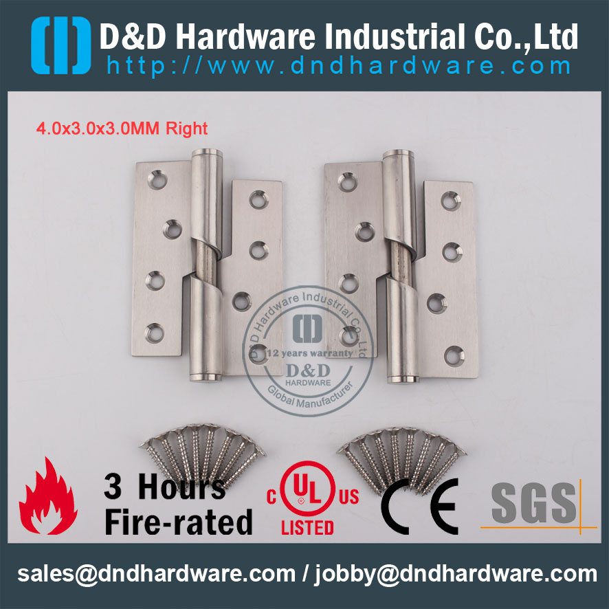 D&D Hardware-Architectural Hardware 4x3x3 Rising Hinge