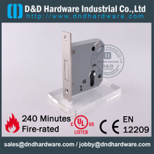 Stainless steel 304 square head type key operation lock body for Metal Door-DDML029