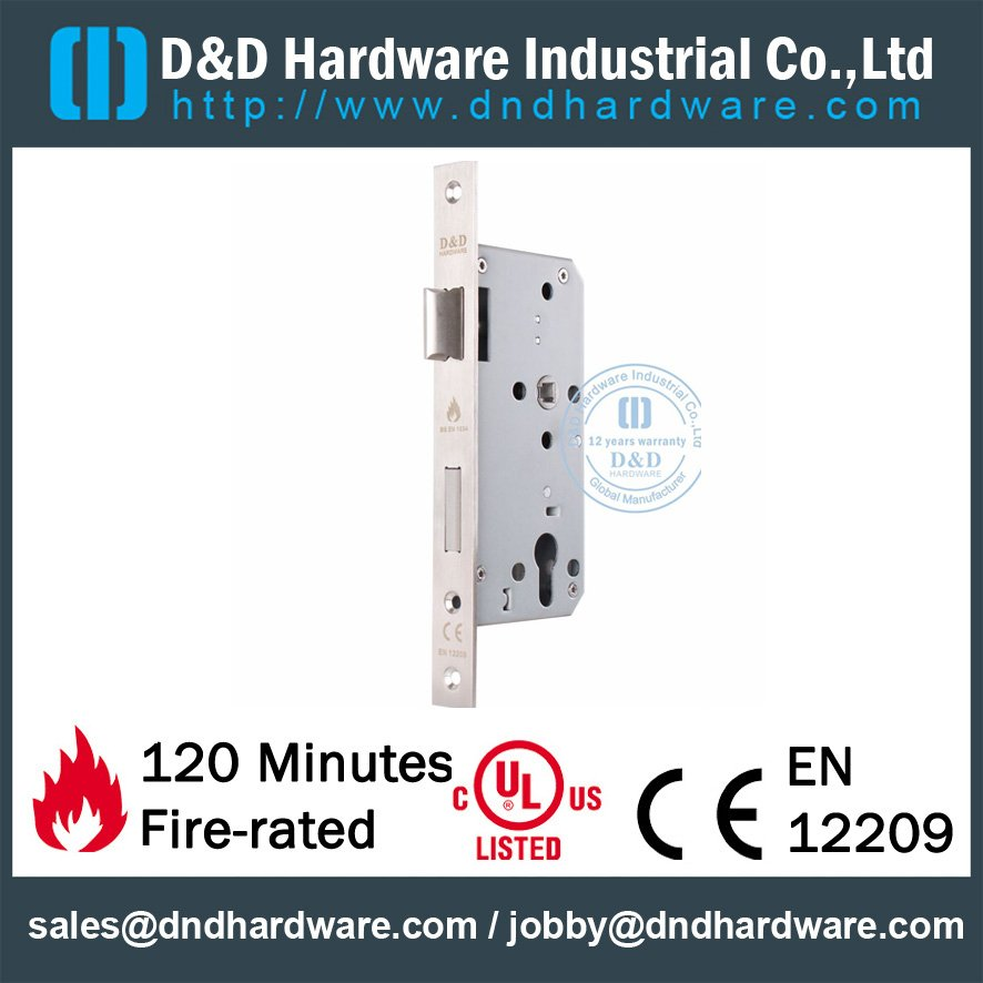 Fire Rated Door Lock-D&D Hardware