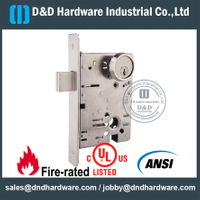 SSS304 Grade 1 Commercial ANSI/BHMA Deadbolt Lock for Wooden Door-- DDAL18 F18
