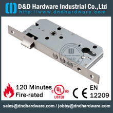 Stainless Steel Mortise Lock with 3 Bars Entry Door- DDML4585-3R