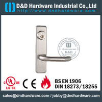 SS304 Escutcheon Fire Rated Lever Trim-DDPD014