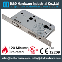 Stainless Steel Mortise Lock with Roller Bolt for Interior Door- DDML5572ZR