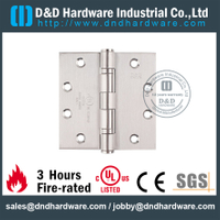 SS316 Durable UL Fire Rated 2BB Hinge-DDSS002-FR-4.5x4x3.0mm