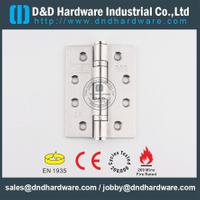 SS201-BS EN 1935 Grade 13 2BB CE Door Hinge for Metal Door/Wooden Door -DDSS001-CE-4x3x3.0mm