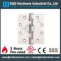 SS304 Durable UL Fire Rated 4BB Hinge-DDSS008-FR-5x4.5x4.6mm