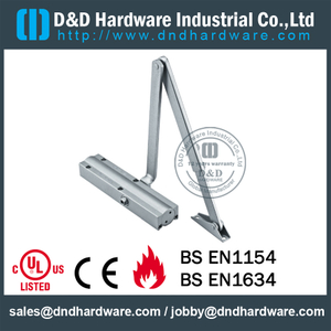 Aluminium Alloy Popular Adjustable Speed Door Closer for Entry Door- DDDC-10