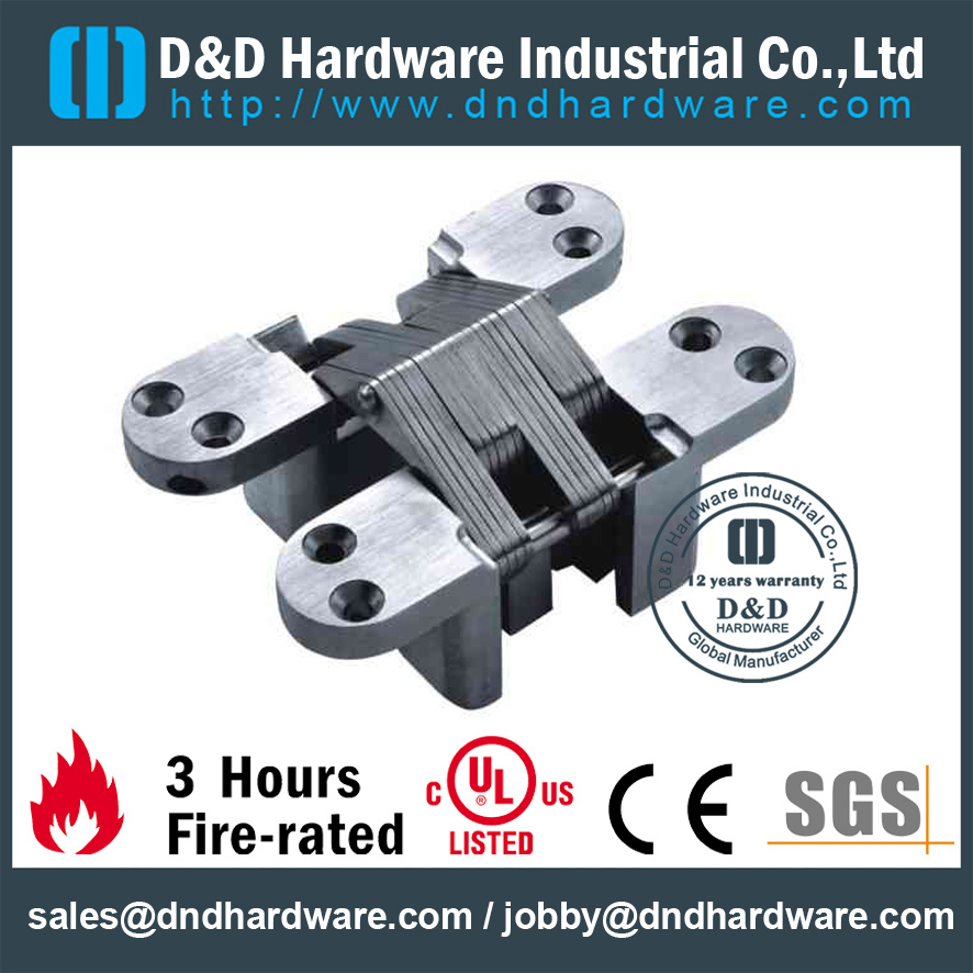 Zinc Alloy Metal Door Invisible Hinge-D&D Hardware