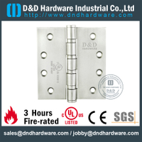 "SUS304 UL Butt Hinge 4"" for Commercial Door-DDSS003-FR"
