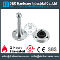 Stainless steel 304 particular door stopper with rubber for Metal Door-DDDS080