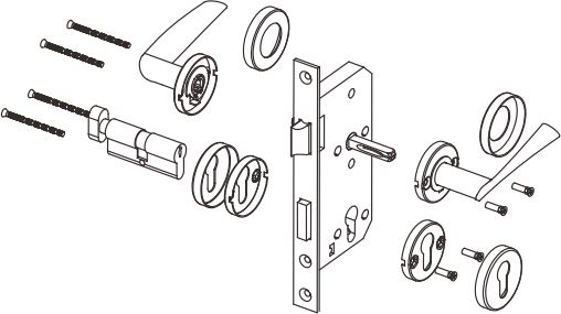 Mortise lock-D and D Hardware