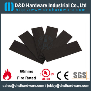 Fire RatedIntumescent Seal Intumescent Pad for Hinge