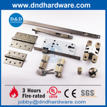Stainless Steel 304 CE Fire Rated Door Hardware for Timber Doors