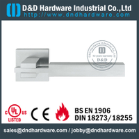 SS304 special square door handle for Wooden Door- DDSH209