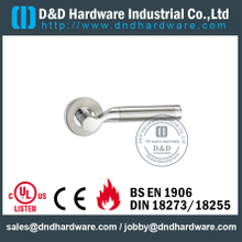 Stainless Steel 316 Grade Polish Cast Solid Lever Handle Door Furniture for Outside Doors -DDSH047