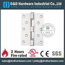 SS201 Ball Bearing Door Hinge for Steel Door with CE-DDSS011-B