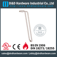 Stainless Steel 201 Tubular Pull Handle for Wooden Door -DDPH017