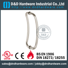 Stainless Steel 201 Polished Pull Handle for interior Shower Glass Door -DDPH004