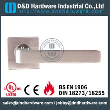 EN1906 SS Tube Lever Door Handle-DDTH100