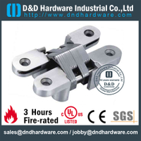 SS-CC09-34x140mm-Grade 304 Heavy Duty invisible Hinge for Inset Wooden Door