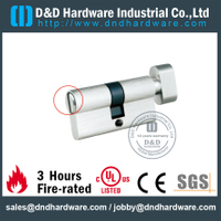 Solid Brass Quarter Turn Lock Cylinder for Toilet Door-DDLC007