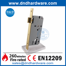 BS EN12209 Satin Brass Fire Rated Security Sash Door Lock-DDML009