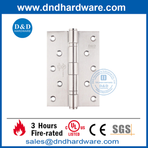 SUS201 Fire Proof Butt Hinge with UL Certification-DDSS005-FR