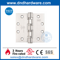 UL Certified Types of Stainless Steel 304 Fire Door Hinge -DDSS004-FR