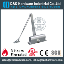 Aluminium Alloy Round 65 kgs Fire Rated Door Closer with CE for Swing Metal Door- DDDC006