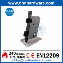SS304 CE Black Finish Mortise Fire Rated Door Lock for Building Door-DDML009