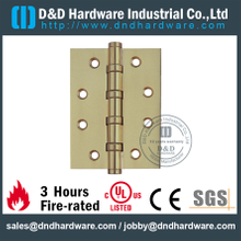 DDBH006-Solid Brass 4 Ball Bearing Hinge for Metal Doors