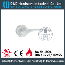 Stainless Steel 304 Entry Solid Lever Handle for Wooden Doors-DDSH013