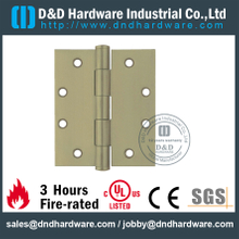 DDBH008-Solid Brass Plain Joint Hinge for Fire-rated Door