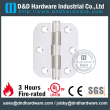 Stainless Steel 304 Door Hinge with Round Corner for Swinging Door-DDSS047