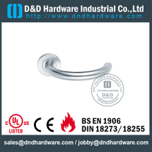 Stainless Steel 316 Chrome Lever Door Handle for Interior Office Door-DDTH014