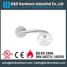 Stainless Steel 304 Thread Type Solid Lever Handle for Fire-Rated Doors-DDSH026