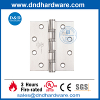 SUS304 Satin Finish SS304 Fire Door Hinge with UL Listed-DDSS003-FR