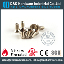 SS304 M6x12 machine screw for Hinge & Metal Door- DDSR004