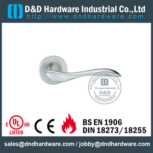Stainless Steel 304 Grade Solid Thread Type Lever Handle for Office Door-DDSH014